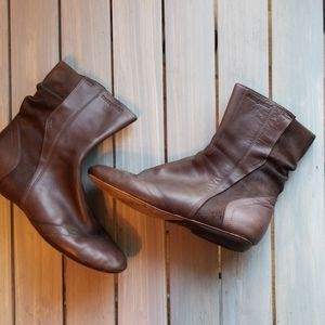 👢PATAGONIA BANDHA LEATHER ANKLE BOOTS